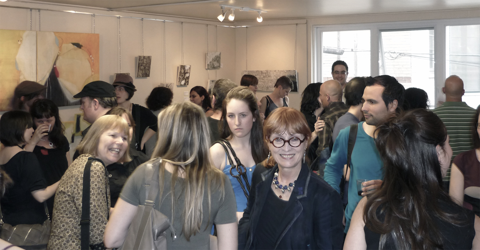 Vernissage Opus 1 par Abstraction collective 18 mai 2012